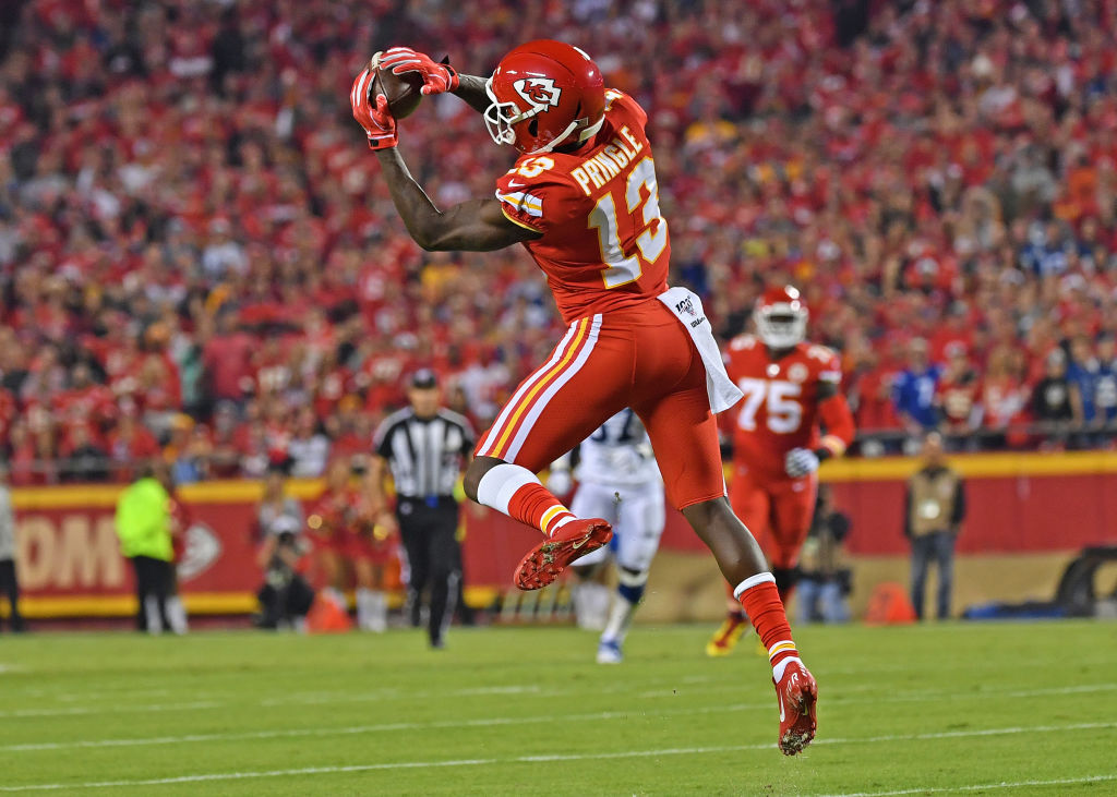 Kansas City Chiefs receiver Byron Pringle could be a valuable fantasy football free agent.