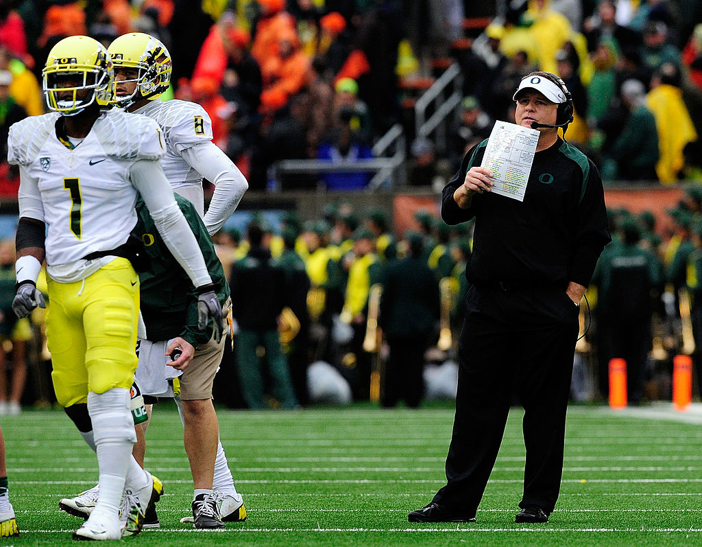 With the Oregon Ducks, Chip Kelly had one of the nation's best offenses