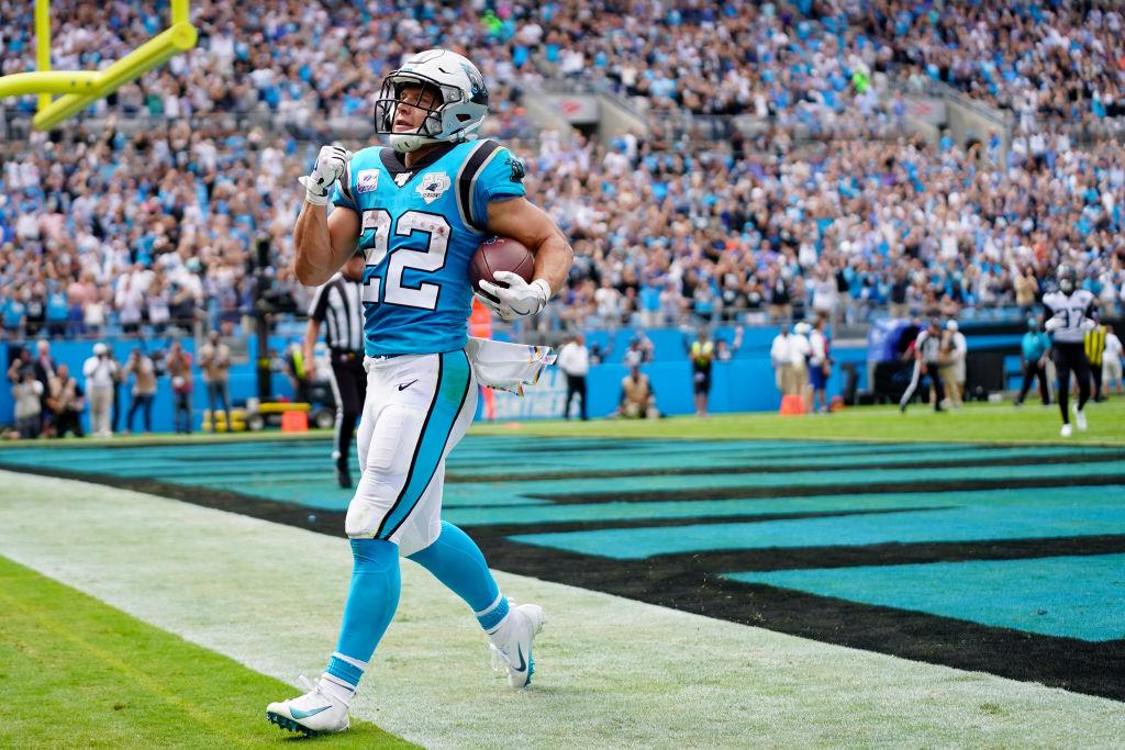 Panthers running back Christian McCaffrey