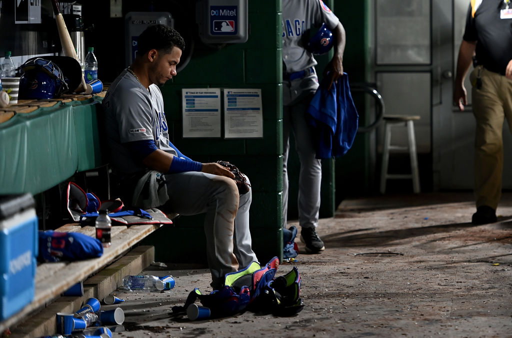Willson Contreras and the Chicago Cubs had one of the worst September collapses ever.