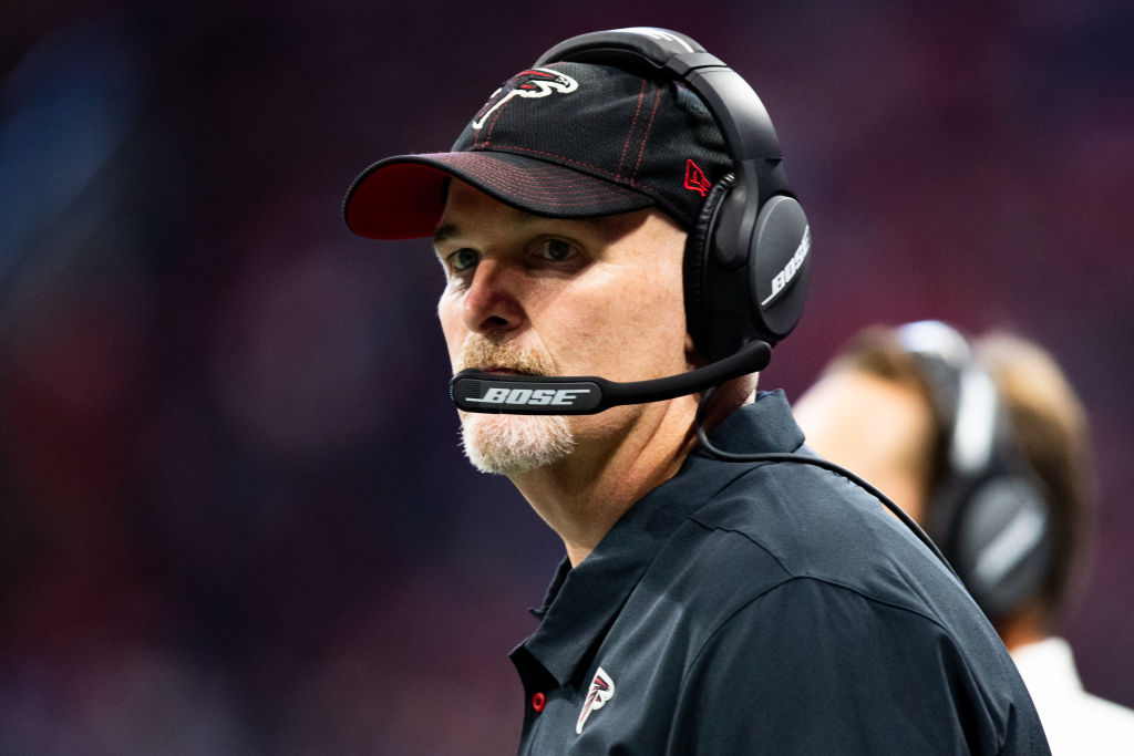 Dan Quinn has looked lost on the sidelines this season