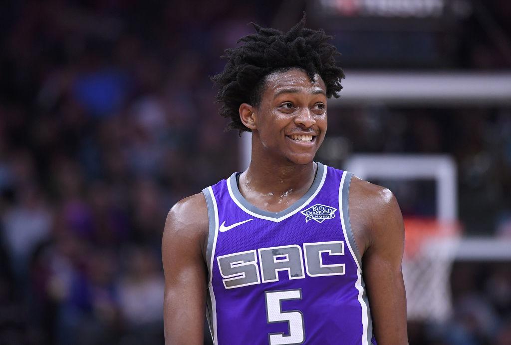 Sacramento Kings guard De'Aaron Fox saw his NBA 2K20 dunk rating change.