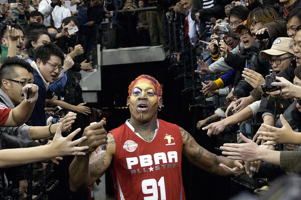 Dennis Rodman volunteered to be an NBA ambassador in China, but should the NBA take him up on it?