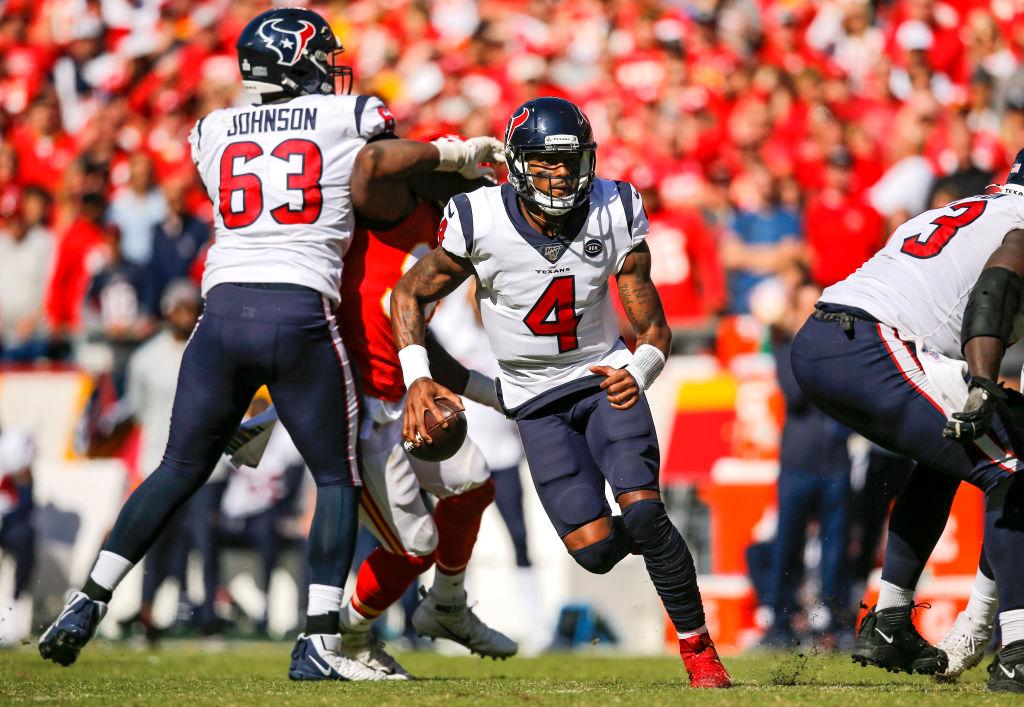 Deshaun Watson's Texans beat Patrick Mahomes' Kansas City Chiefs.