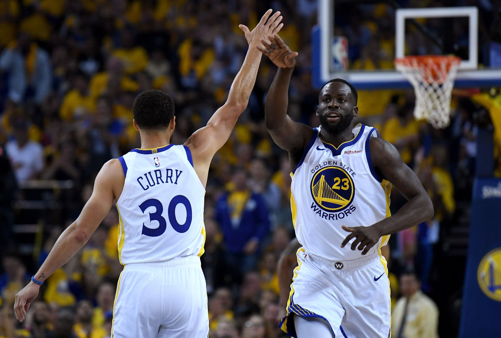 Golden State Warriors forward Draymond Green won't be sipping a beer anytime soon.
