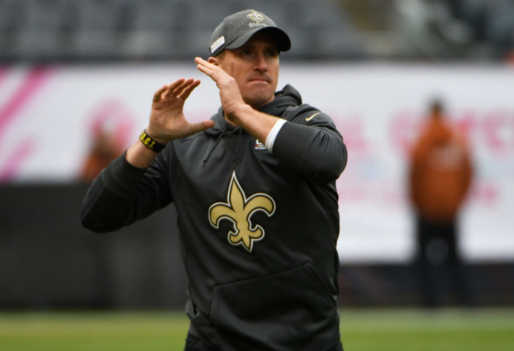With starting quarterback Drew Brees hurt, Teddy Bridgewater has been starting for the New Orleans Saints.
