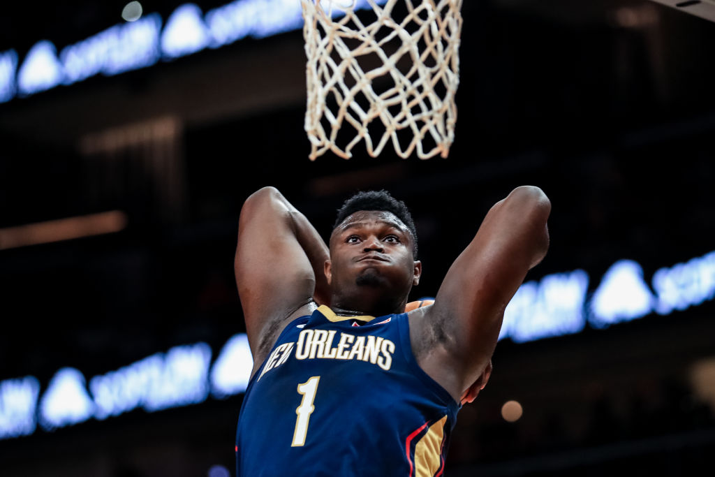 NBA fans might need to enjoys Zion Williamson while they can because his history of knee problems could spell trouble.