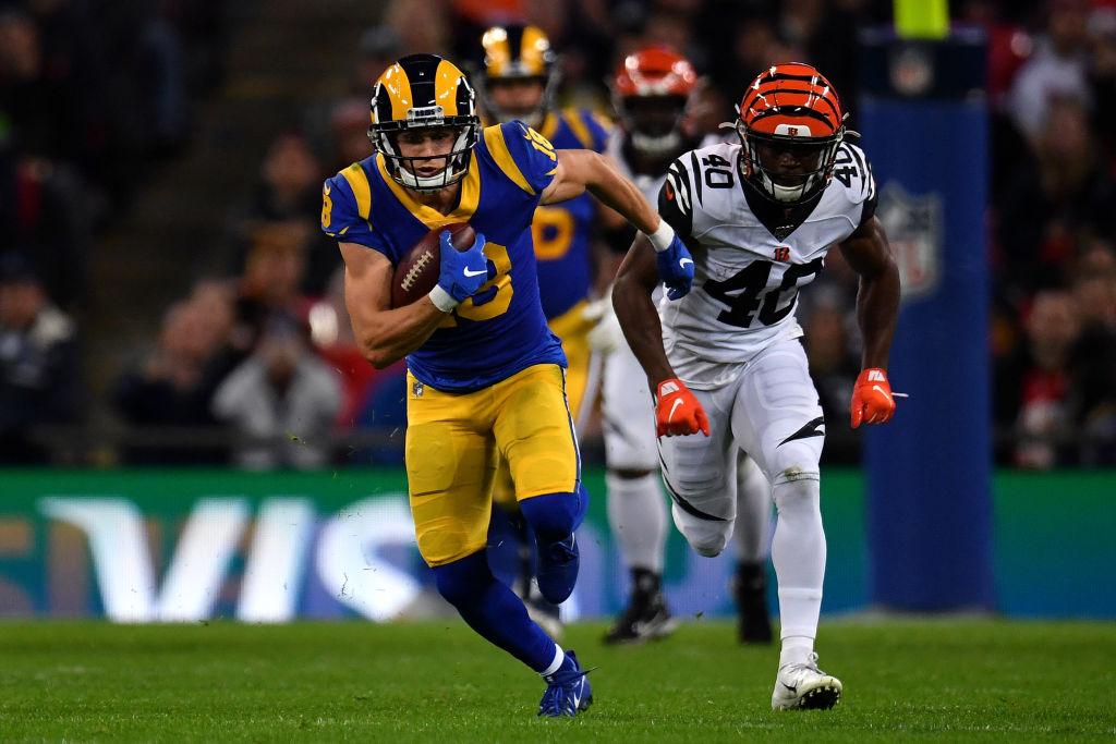 Rams wide receiver Cooper Kupp