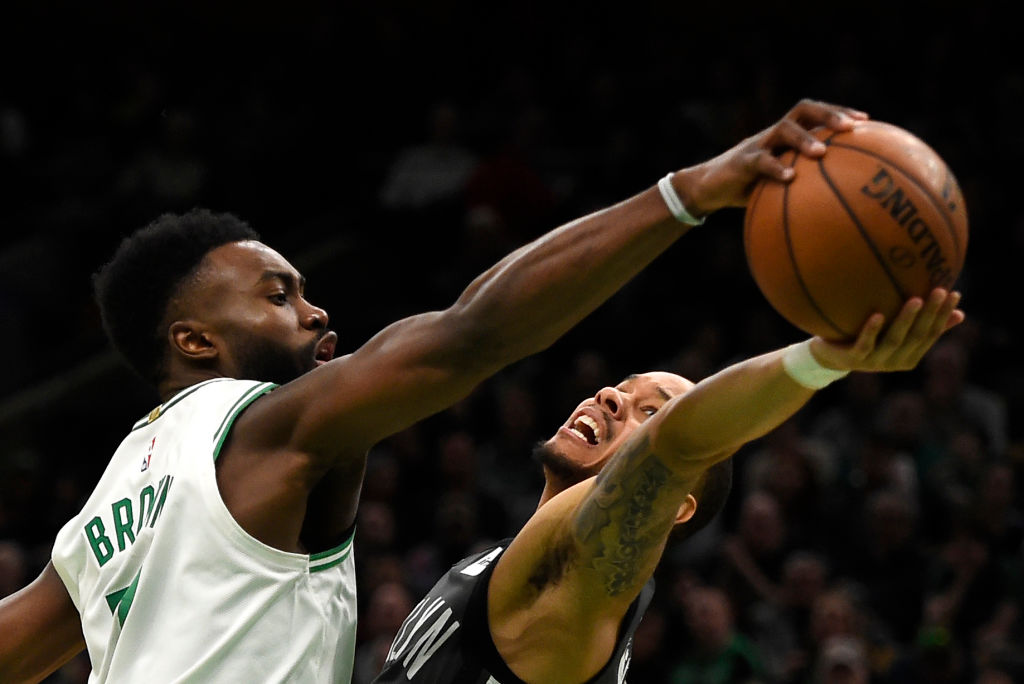 Jaylen Brown is worth every penny of his big contract extension, according to Celtics guard Gordon Hayward.