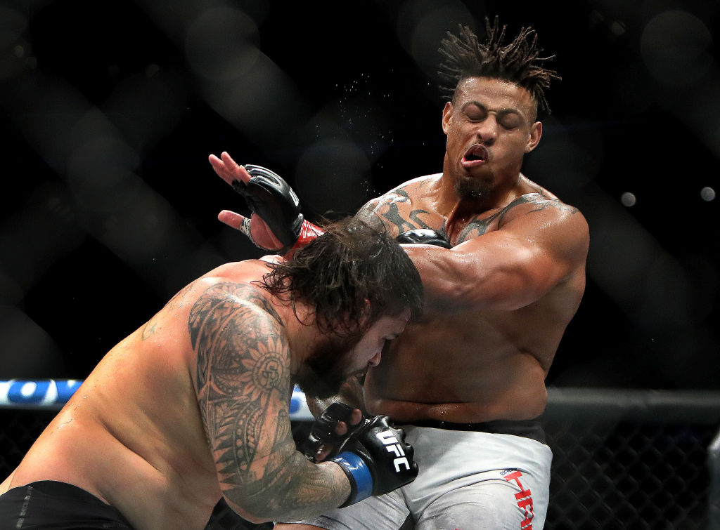 Greg Hardy and his inhaler were the center of a UFC controversy.