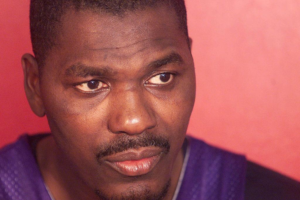 Hakeem Olajuwon at Toronto Raptors training camp