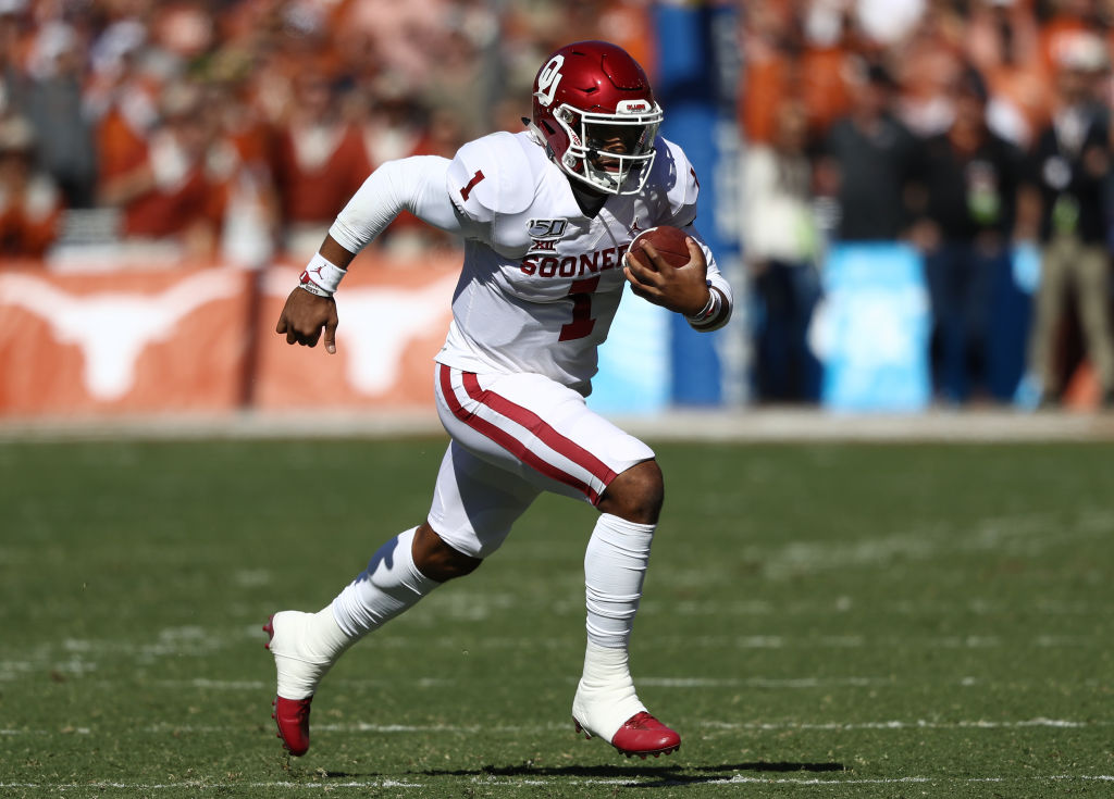 Jalen Hurts rushed for 131 yards and a touchdown against Texas