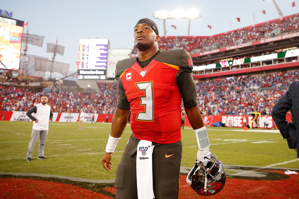 Jameis Winston of the Tampa Bay Buccaneers
