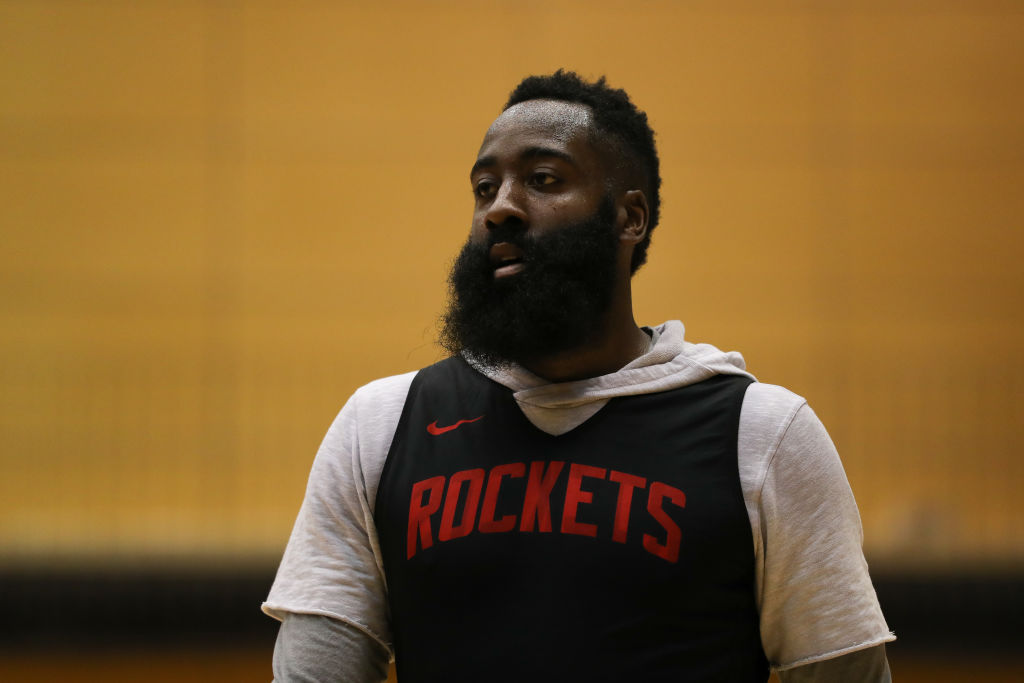 Rockets guard James Harden