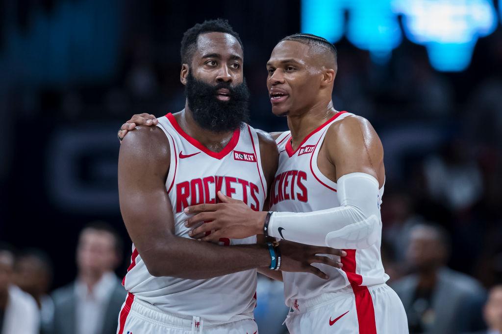 The Houston Rockets and Washington Wizards set NBA scoring records last night.