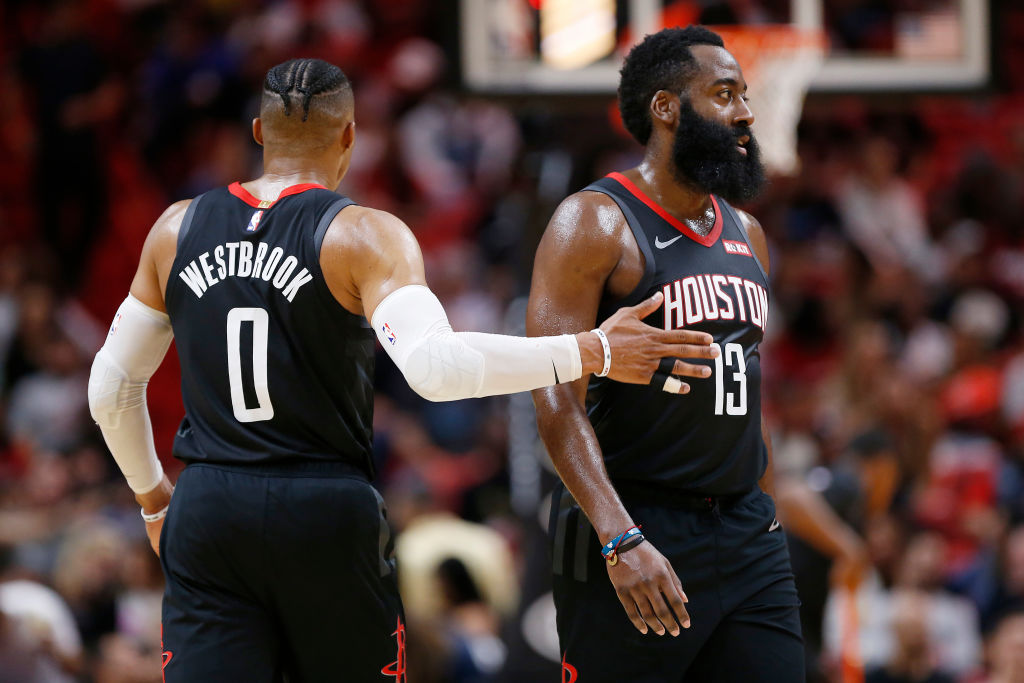 Russell Westbrook and James Harden will be a dynamic duo in the regular season