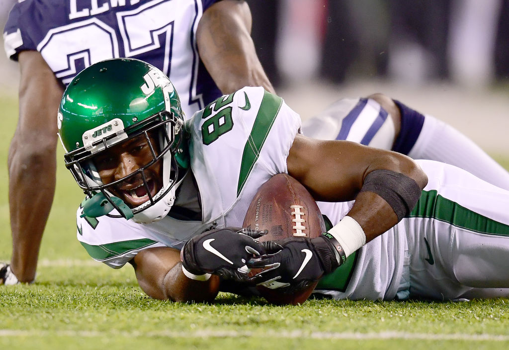 New York Jets receiver Jamison Crowder is emerging as one of quarterback Sam Darnold's favorite targets.