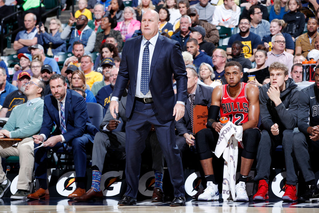 Head coach Jim Boylen is trying to lead the Chicago Bulls back to NBA relevance.