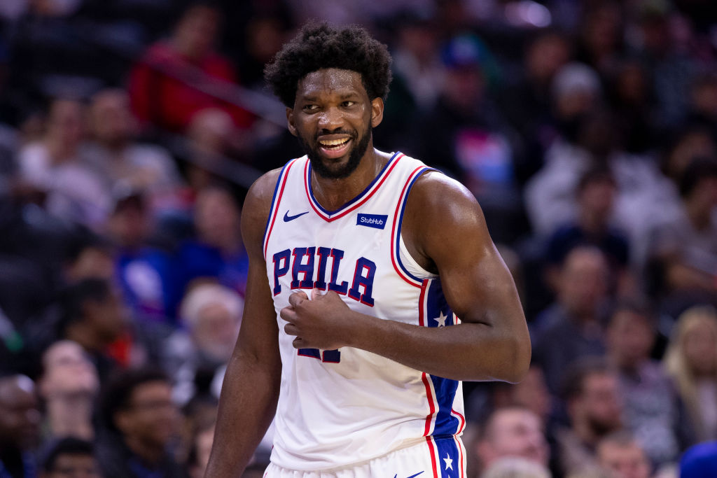 Joel Embiid hopes to take the 76ers to new heights this season