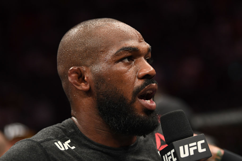 Jon Jones has had plenty to say about a potential fight with Israel Adesanya