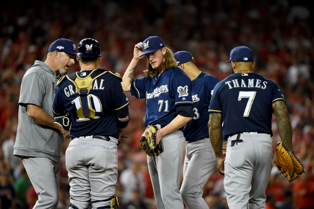 Josh Hader and the Milwaukee Brewers would have loved a shot at redemption in a three-game series
