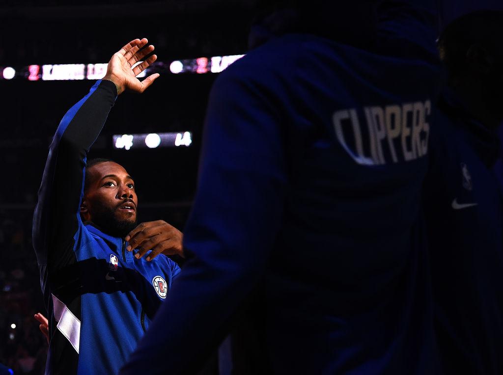 Clippers forward Kawhi Leonard