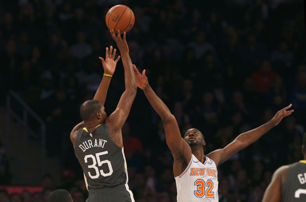 After leaving the Golden State Warriors in NBA free agency, Kevin Durant chose the Brooklyn Nets over the New York Knicks.