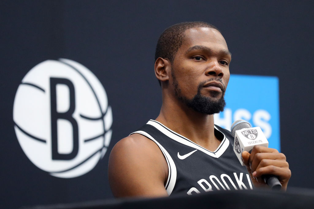 Nets forward Kevin Durant