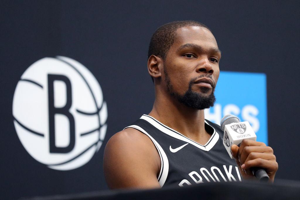 Nets forward Kevin Durant