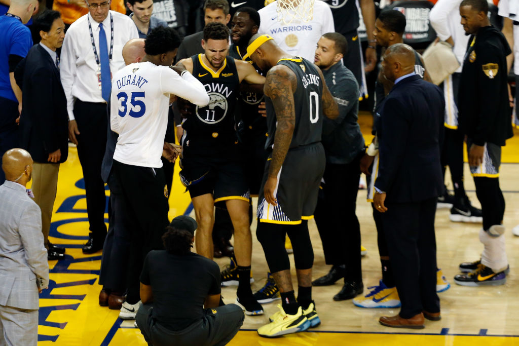 Klay Thompson will need a full season to recover from his torn ACL injury