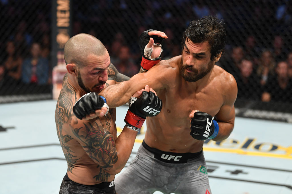 Kron Gracie (right) wasn't a fan of the way Cub Swanson prepared for their UFC bout.