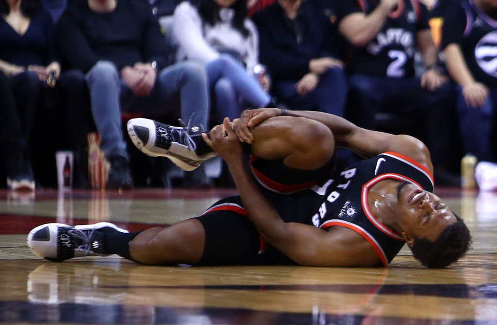 NBA players like Kyle Lowry frequently suffer from injuries.