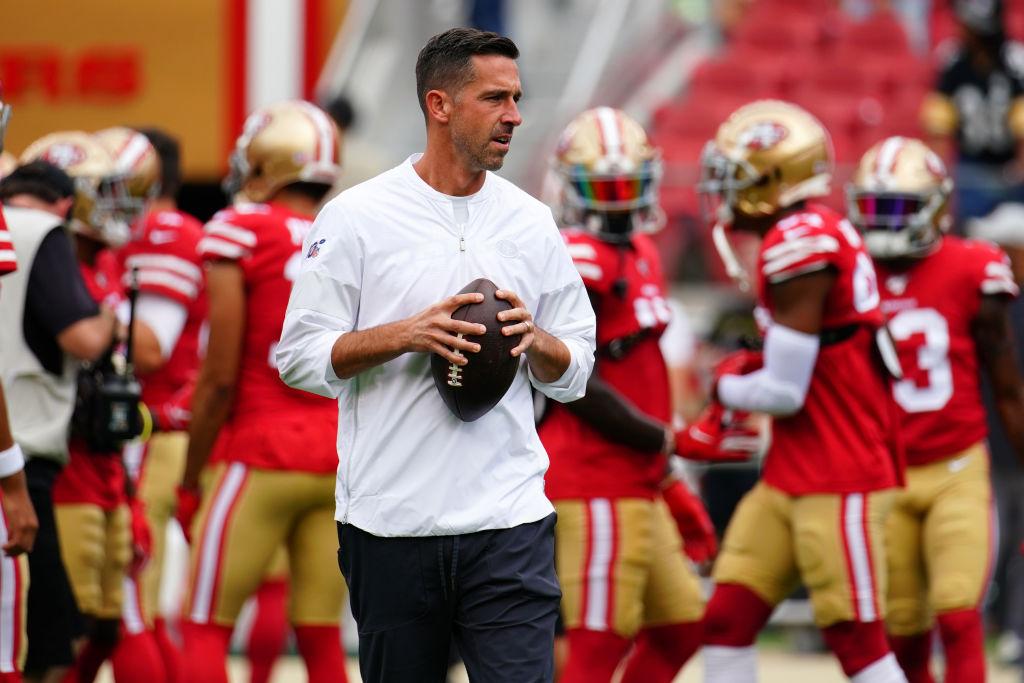Head coach Kyle Shanahan still thinks his San Francisco 49ers defense can improve.