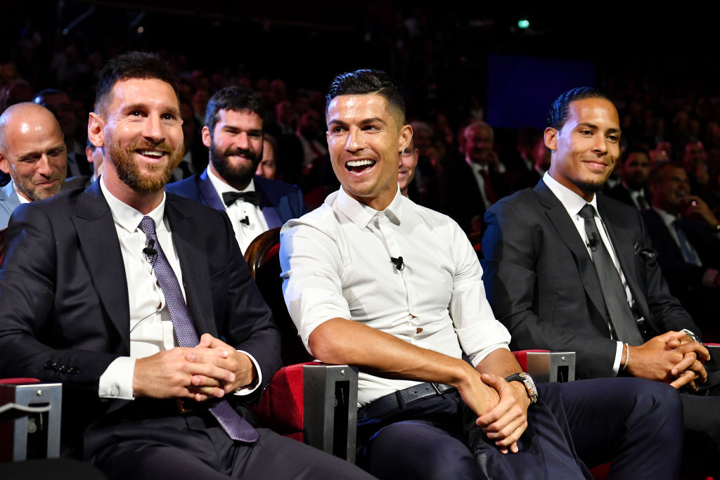 Barcelona's Lionel Messi and Juventus' Cristiano Ronaldo both compete in the Champions League.