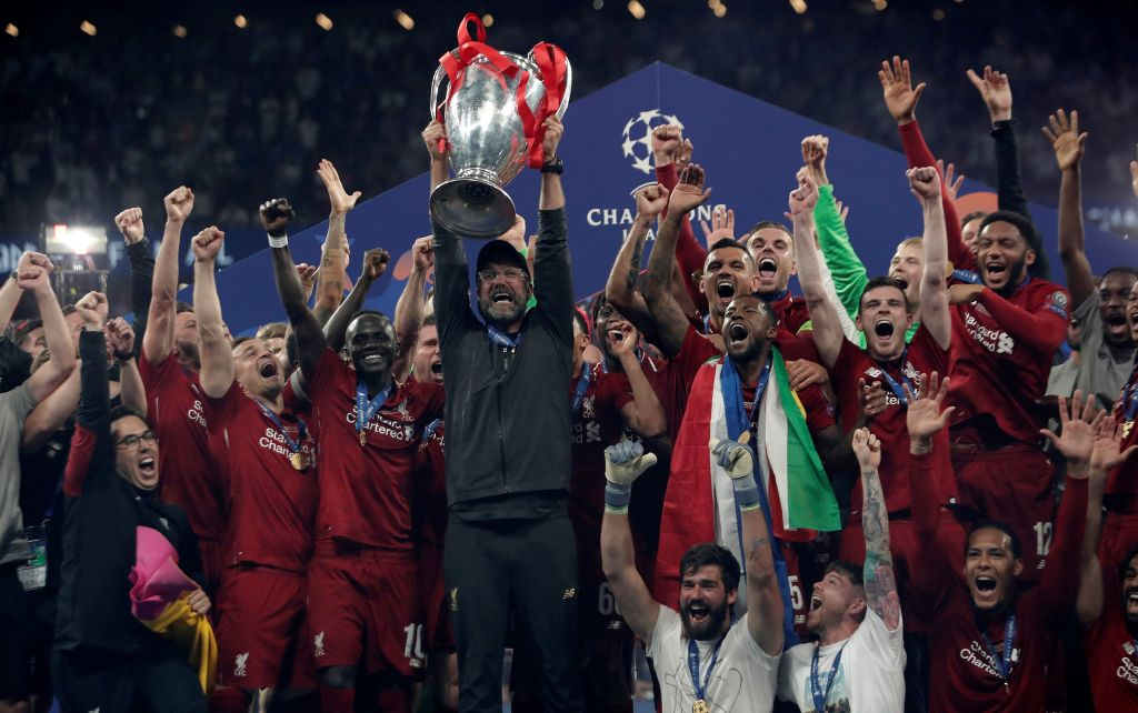 Liverpool won the 2019 UEFA Champions League