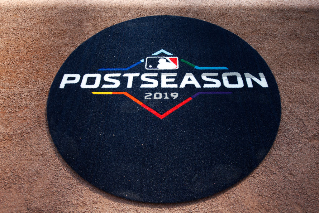 The MLB 2019 Playoffs logo