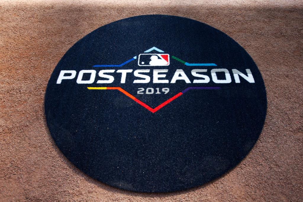 The MLB 2019 Playoffs logo