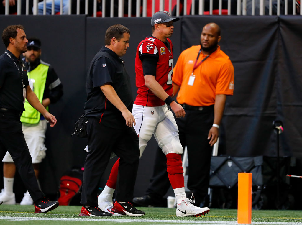 Falcons quarterback Matt Ryan