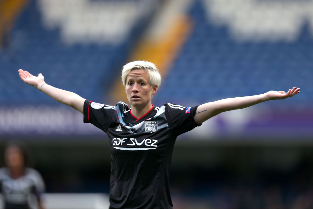 Playing in Europe might be the next step for U.S. Women's National Team soccer star Megan Rapinoe.