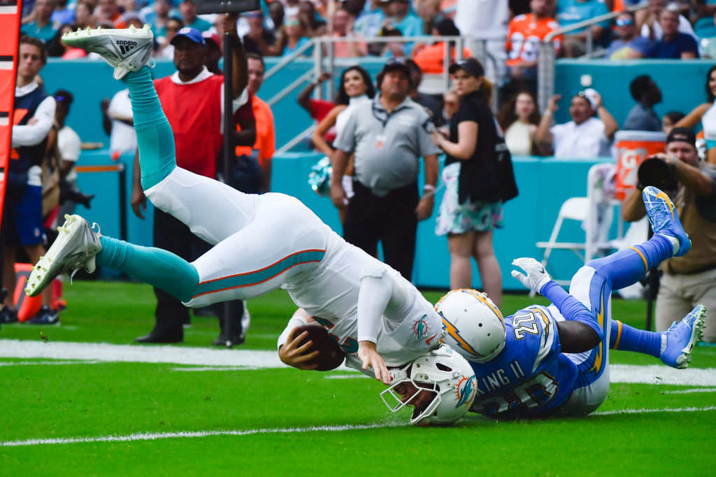 The Miami Dolphins are winless so far in the 2019 NFL season.