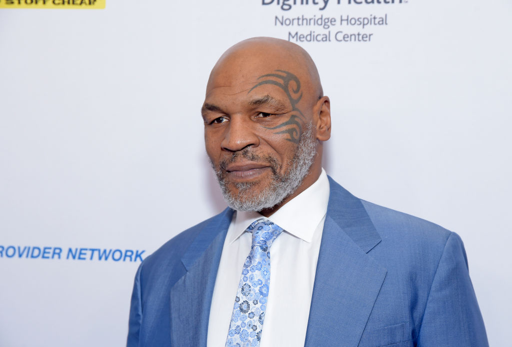 Heavyweight boxing legend Mike Tyson