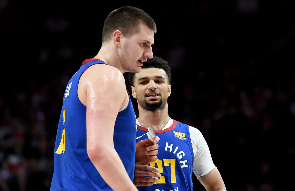 Nuggets stars Nikola Jokic and Jamal Murrary