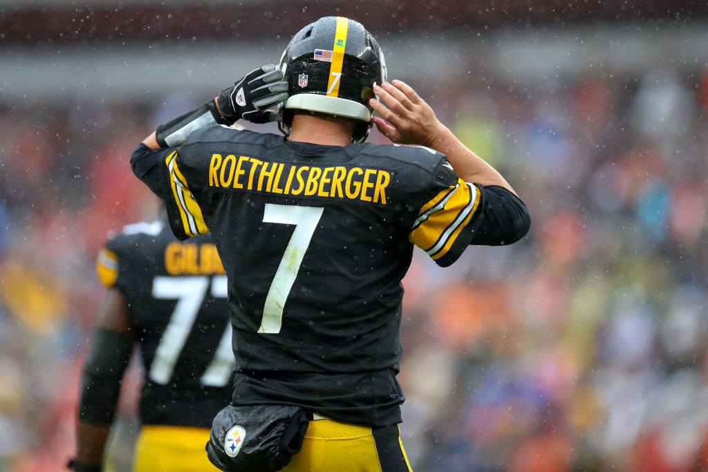 Steelers quarterback Ben Roethlisberger is one of the NFL QBs with the most career interceptions.