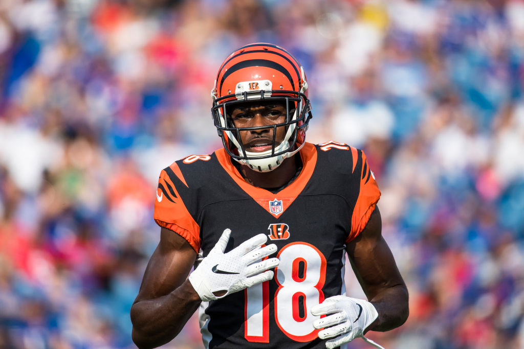 Bengals wide receiver A.J. Green