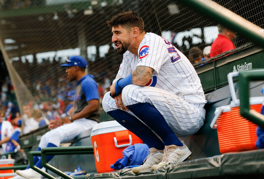 Nicholas Castellanos of the Chicago Cubs is a free agent in 2019, but he's not worth $100 million.