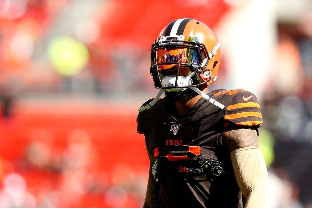 Browns wide receiver Odell Beckham Jr.