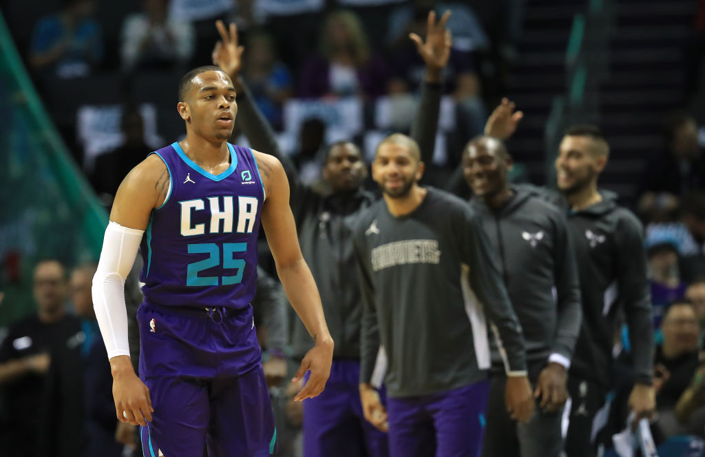 In terms of NBA debuts, the Hornets' P.J. Washington couldn't have asked for a better game.