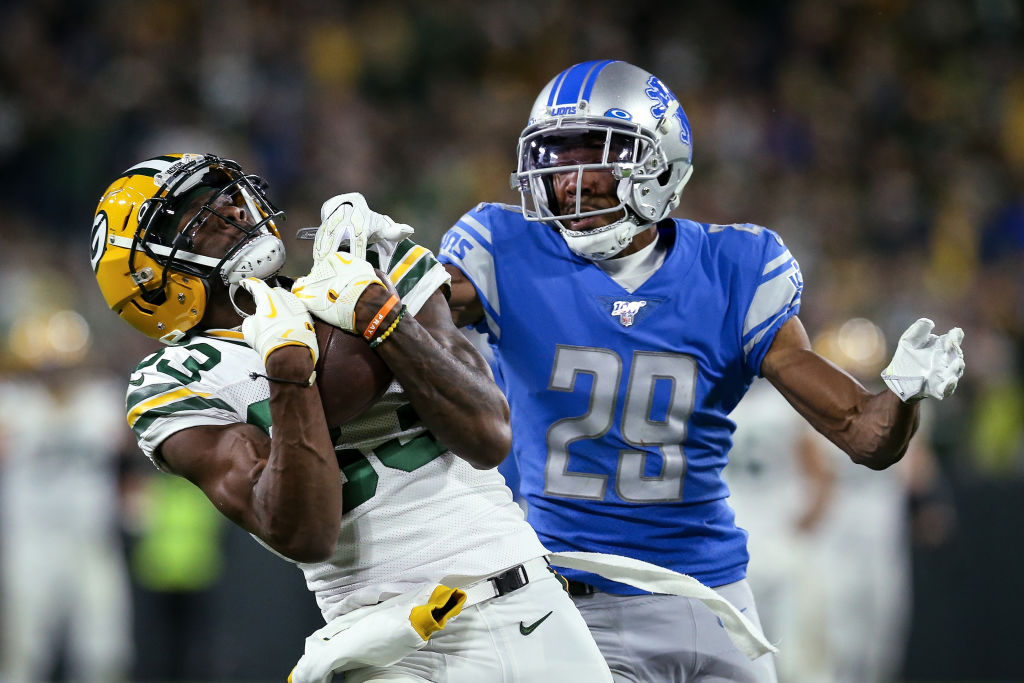 Green Bay Packers wide receiver Marquez Valdes-Scantling reminds Hall of Famer Randy Moss of himself.
