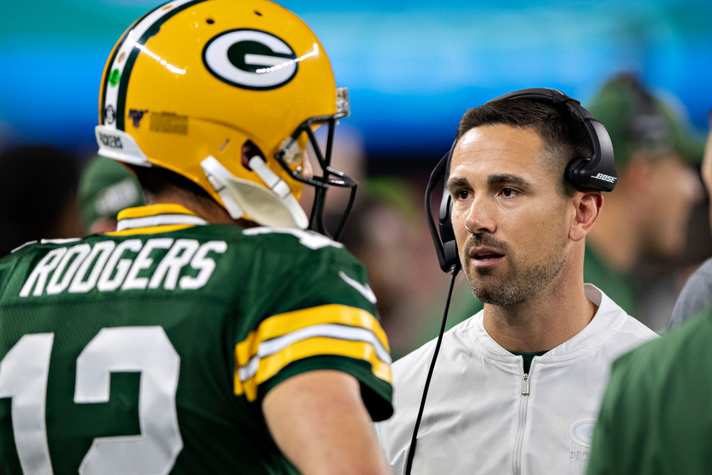 Packers coach Matt LaFleur is just like NFL fans at home when it comes to deciding what is and isn't pass interference.