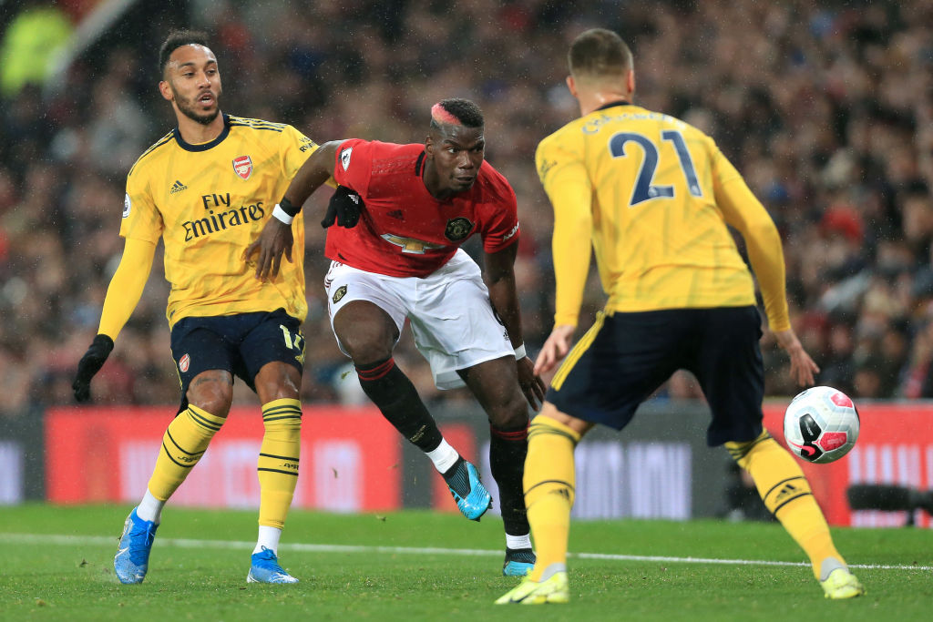 Arsenal and Manchester United are no longer dominating English Premier League soccer.